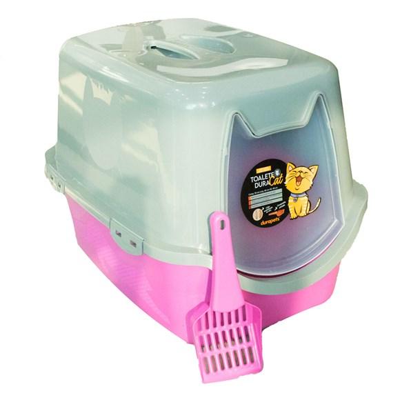 Banheiro Para Gatos Toalete Duracats Rosa
