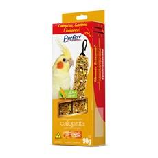 Bastão de Sementes para Calopsita Milho Verde Prefere - 90g