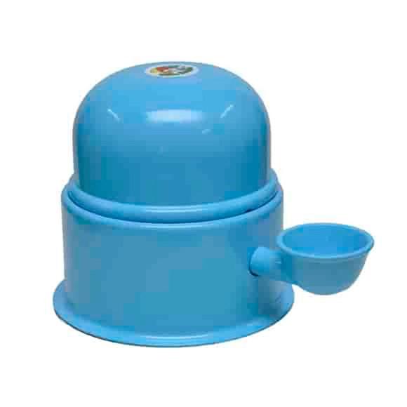 Bebedouro Alumínio Vida Mansa Azul - 1,4L