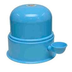 Bebedouro Alumínio Vida Mansa Azul - 3L