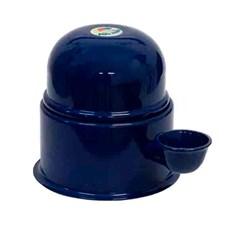 Bebedouro Alumínio Vida Mansa Azul Marinho - 1,4L