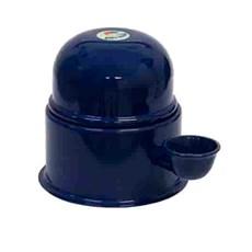Bebedouro Alumínio Vida Mansa Azul Marinho - 700mL