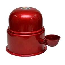 Bebedouro Alumínio Vida Mansa Vermelho - 700mL
