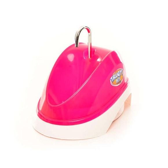 Bebedouro Automatico Para Gatos Bivolt Rosa 2l Truqys Pets