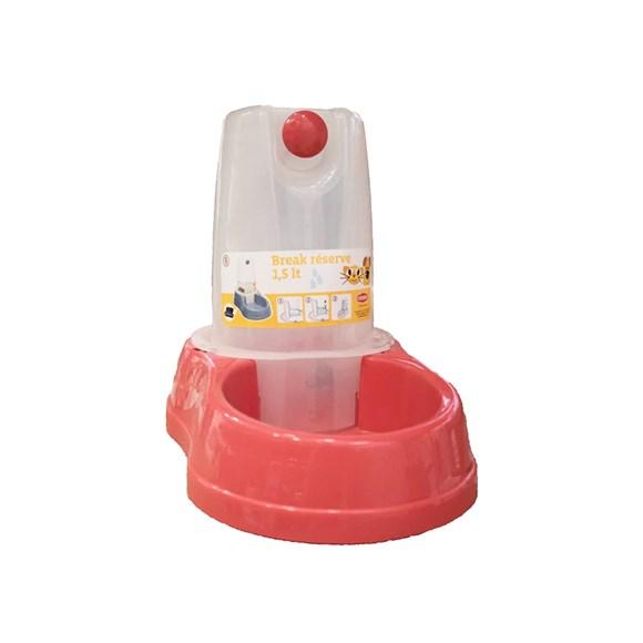 Bebedouro Automático Vermelho Chalesco - 1,5L