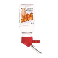 Bebedouro Drink Mouse Bico de Alumínio Vermelho Tudo Pet – 120mL