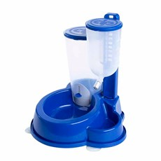 Bebedouro E Comedouro Automático Durafeeder Deluxe Azul