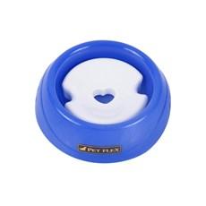 Bebedouro para Cachorro Pelos Longos e Pequeno Porte Azul P Petflex