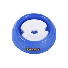 Bebedouro para Gatos Pelos Longos Pequeno Azul Petflex Gats