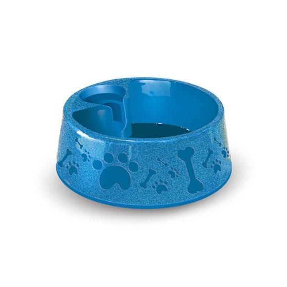 Bebedouro Plast Furacão Pet Paris Nº2 Azul - 700ml