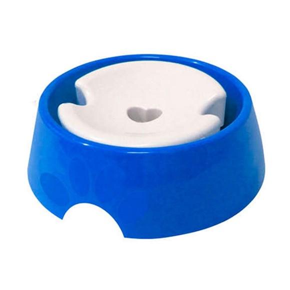 Bebedouro Plast Furacão Pet Pelos Longos Nº3 Azul - 1000mL