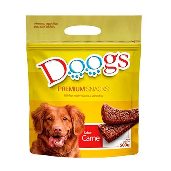 Bifinho Cães Doogs Carne - 500g
