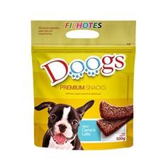 Bifinho Cães Doogs Carne e Leite - 500g