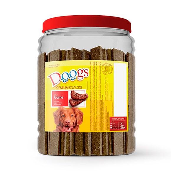 Bifinho Cães Doogs Carne Pote - 2,5kg