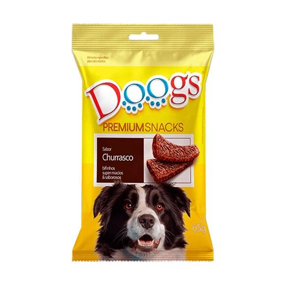 Bifinho Cães Doogs Churrasco - 65g