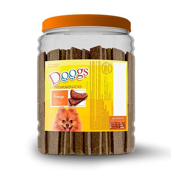 Bifinho Cães Doogs Frango Pote - 2,5kg