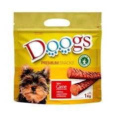 Bifinho Cães Doogs Palito Stick Raças Pequenas Carne - 1kg