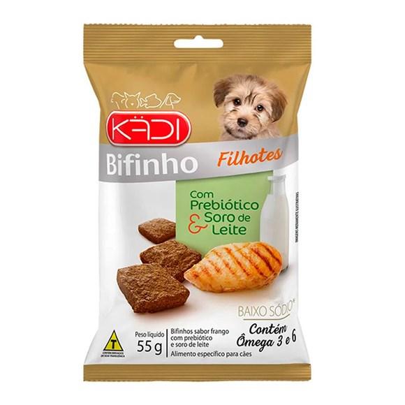 Bifinho Cães Kadi Filhote Frango – 55g