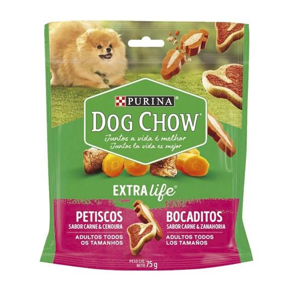 Biscoito Dog Chow Adultos Carne e Cenoura - 75g