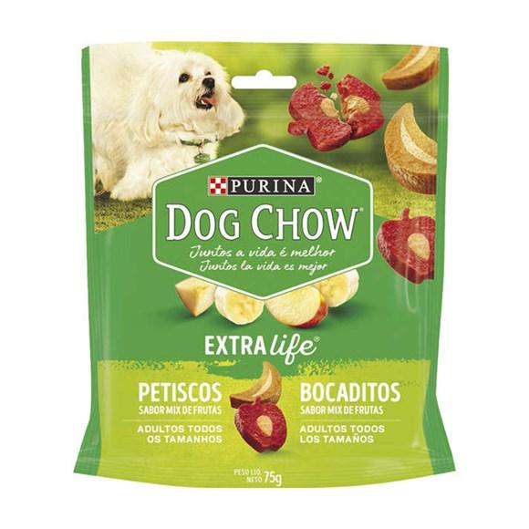Biscoito Dog Chow Adultos Mix de Frutas - 75g