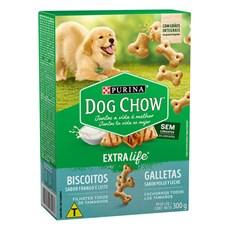 Biscoito Dog Chow Filhotes Frango e Leite - 300g