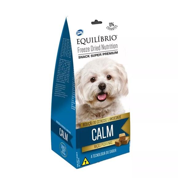 Biscoito Equilíbrio Freeze Dried Snack Calm Cães Raças Pq.
