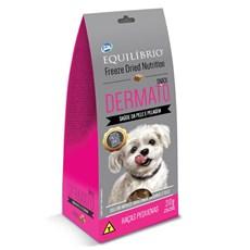 Biscoito Equilíbrio Freeze Dried Snack Dermato Cães Raças Pq