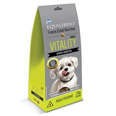 Biscoito Equilíbrio Freeze Dried Snack Vitality Cães Raça Pq