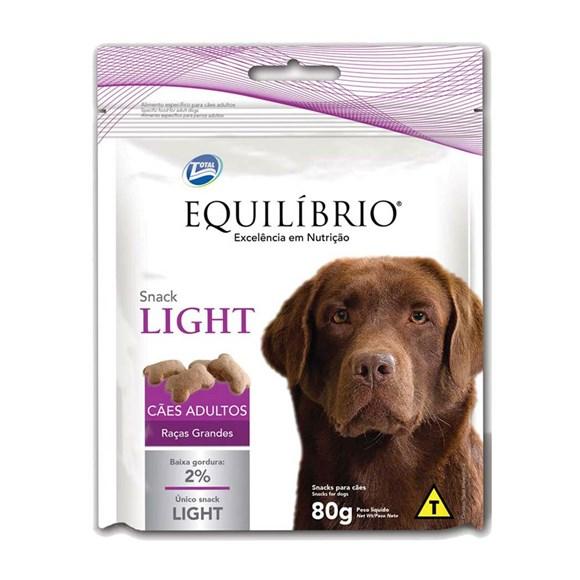 Biscoito Equilíbrio Snack Light Cães Adultos De Raça Grande