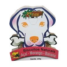 Biscoito Natural Açai/Morango e Banana Aves da Mata - 150g