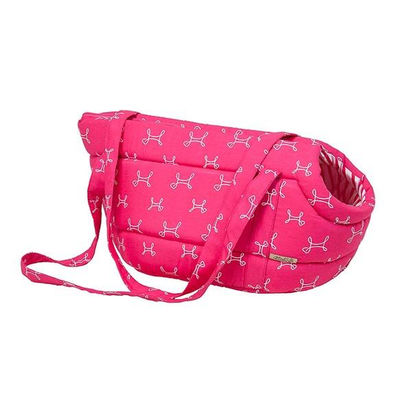 Bolsa Cães e Gatos Fábrica Pet Munique Pink Tam.M