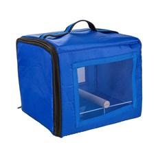 Bolsa De Transporte Calopsita Azul Jel Plast