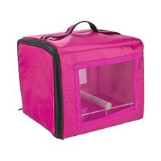 Bolsa De Transporte Calopsita Rosa Jel Plast