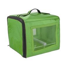 Bolsa De Transporte Calopsita Verde Jel Plast
