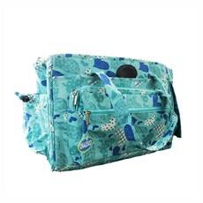 Bolsa de Transporte Luxo Azul Chalesco