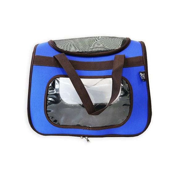 Bolsa de Transporte Sak's Cães e Gatos Azul Pet-0076