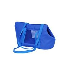 Bolsa De Transporte São Pet Marie Nylon 600 Azul Nº2