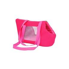 Bolsa De Transporte São Pet Marie Nylon 600 Rosa Nº2