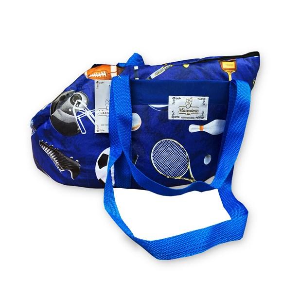 Bolsa Transporte Maxximo Pet Transporte Azul Esporte - Tam. G