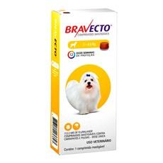 Bravecto Antipulgas e Carrapatos Para Caes 2 a 4,5kg