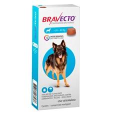 Bravecto Antipulgas e Carrapatos Para Caes 20 a 40kg