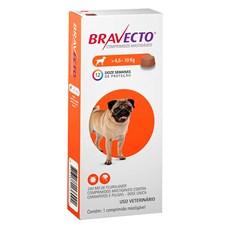 Bravecto Antipulgas e Carrapatos Para Cães 4,5 a 10kg