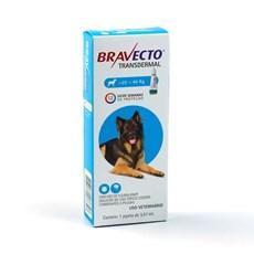 Bravecto Antipulgas e Carrapatos Transdermal Cães 20 A 40Kg