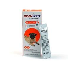 Bravecto Antipulgas e Carrapatos Transdermal Caes 4,5 A 10Kg