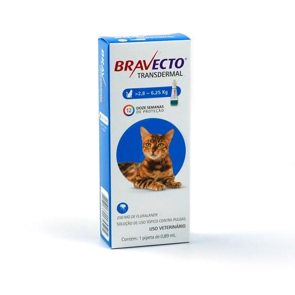 Bravecto Antipulgas Transdermal Para Gatos De 2,8 A 6,25kg