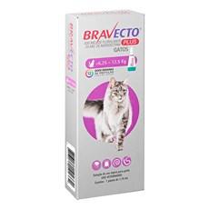 Bravecto Plus Antipulgas e Carrapatos Gatos 6,25 a 12,5kg