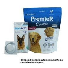 Bravecto Remédio para Carrapato e Pulga em Cachorro 20 a 40kg 1000mg