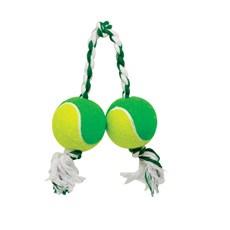 Brinquedo 2 Bola Tênis LCM Dental Bone Cães 460mm