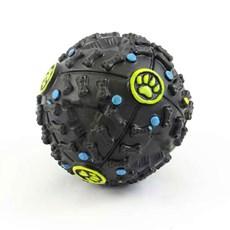 Brinquedo Bola Interativa Para Cães Preto 10cm - The Pets Brasil