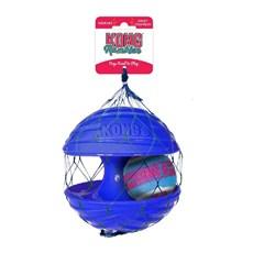 Brinquedo Cães Interativo Kong Rambler Ball Azul